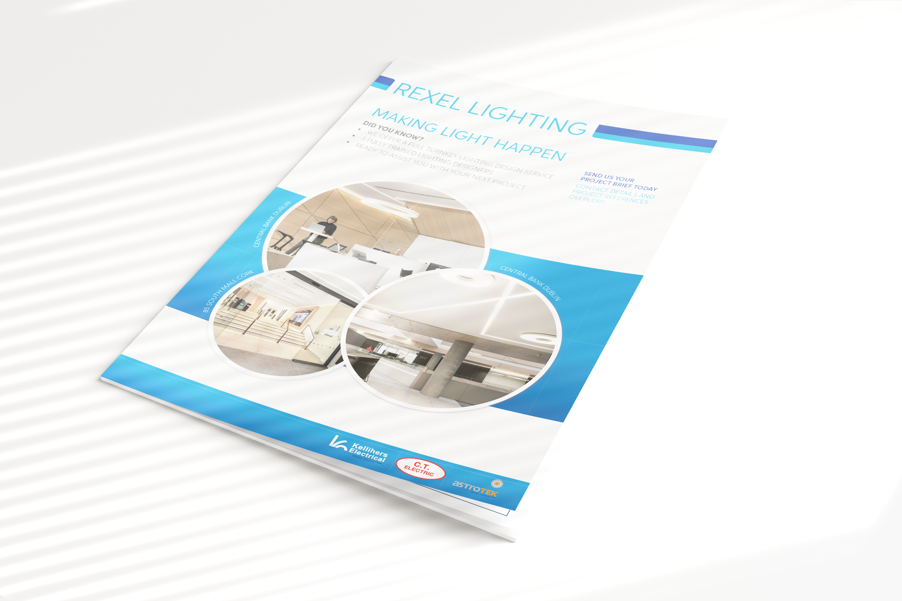 Rexel Lighting Design Ireland | Here for your next project